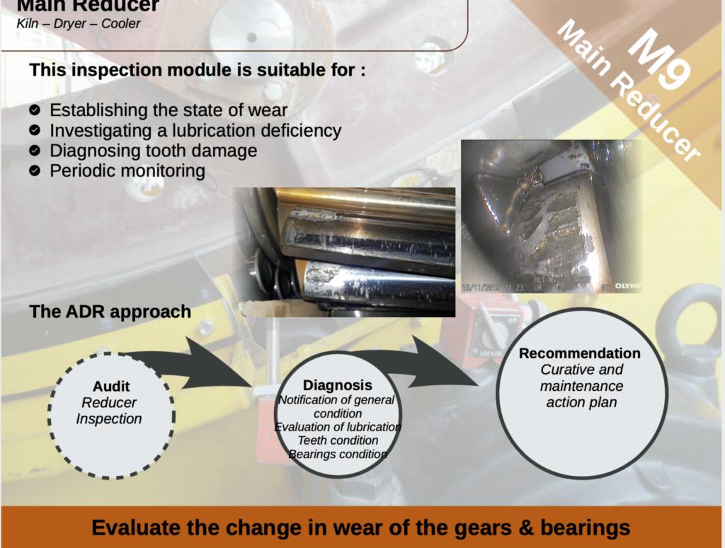 Sercem industrie - preventive maintenance - main reducer
