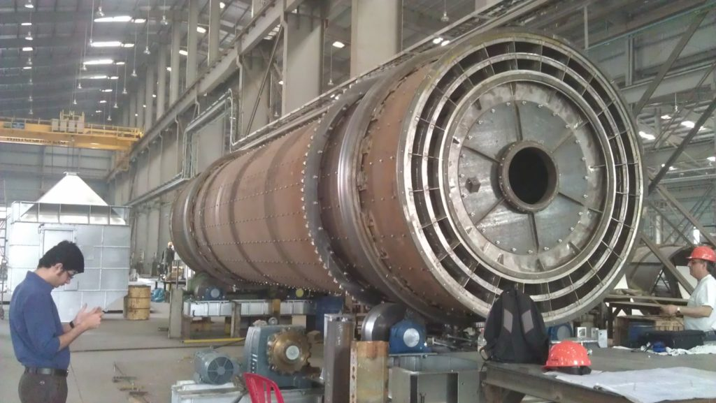 rotary-drum-engineering/supply-of-a-rotary-kiln/india
